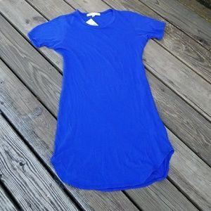 NWT C&C California  lapis Teeshirt dress medium
